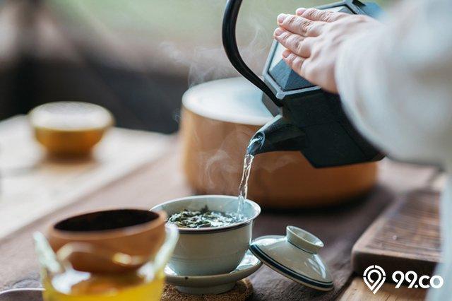 membuat teh original