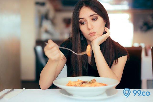ciri ciri depresi malas makan