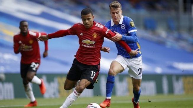 Gol Penalti Fernandes di Akhir Laga Bawa MU Taklukkan Brighton