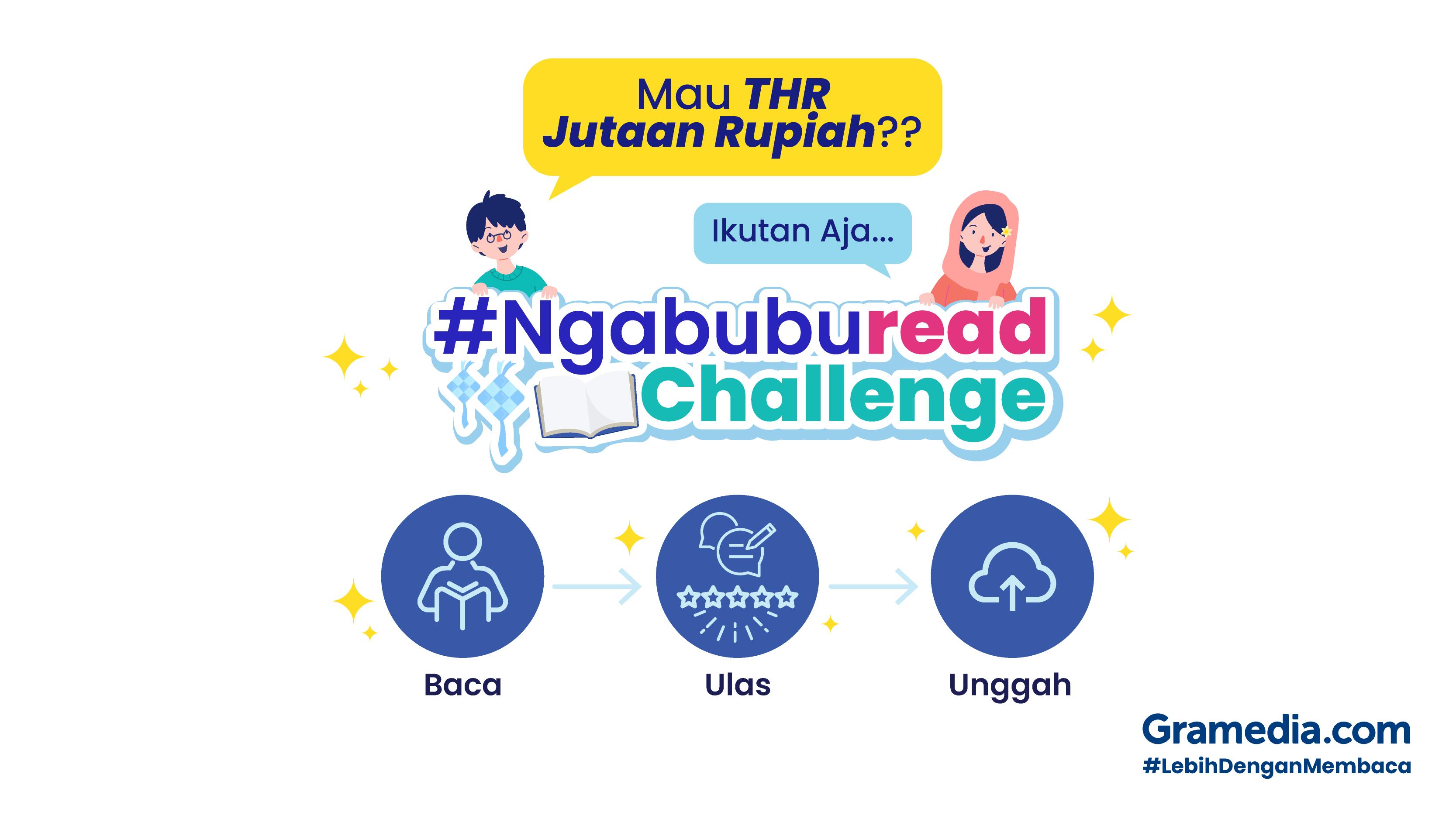 #Ngabuburead Bersama Gramedia.com. Ada Hadiah THR Berlimpah! #BerbagiTanpaBatas