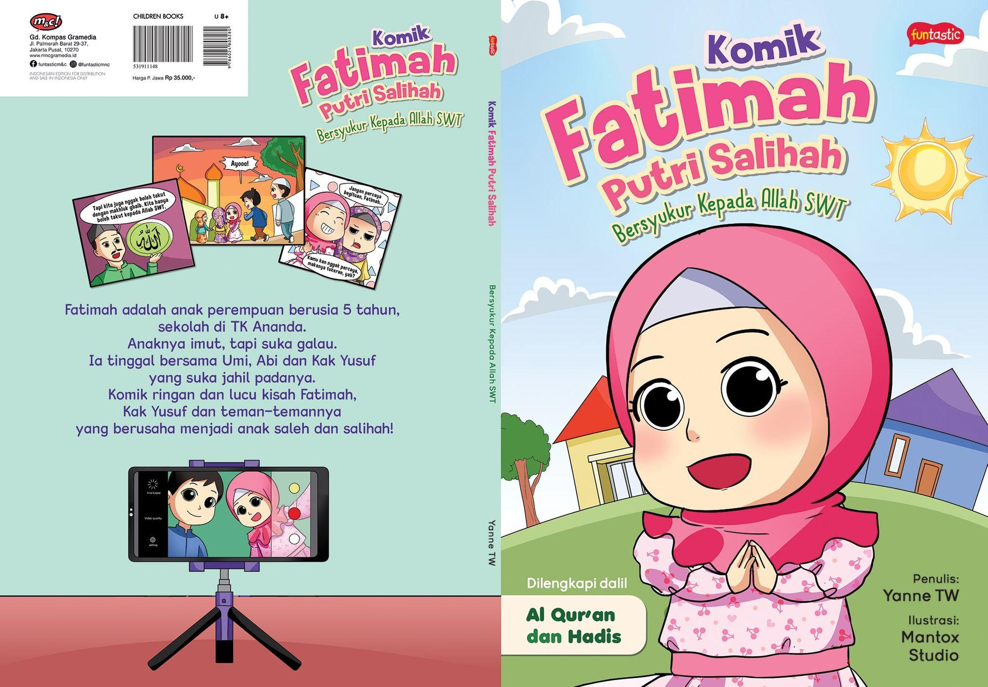Komik Fatimah Putri Salihah: Komik Lokal Bernuansa Islami yang Mengajak Anak-Anak Menjadi Salih & Salihah